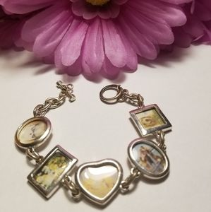 Cute VTG Picture Frame Bracelet